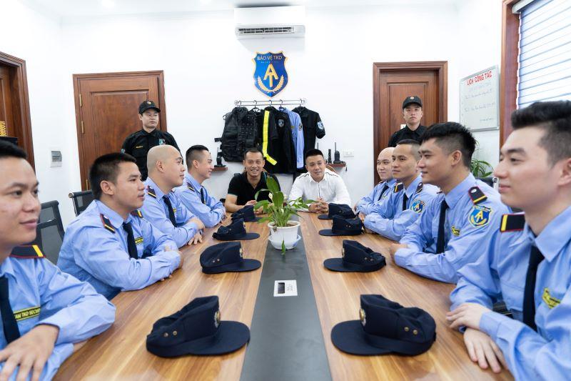 Bảo vệ TKD được huấn luyện bài bản có nghiệp vụ cao