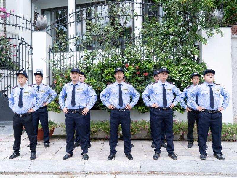 Nhân viên bảo vệ công trình giúp đảm bảo an ninh xung quanh
